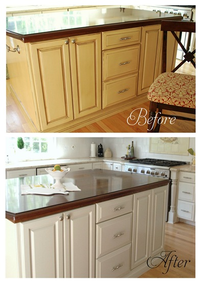 Painting Laminate Cabinets Before And After Matttroy Painted Cupboards